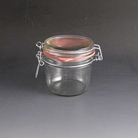 350 Gram Glass Storage Jar