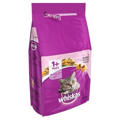 Whiskas Dry 1+ Salmon Cat Food 1.9kg