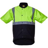 CT Oilskin Short Sleeve Vest Hi Vis Day/Night