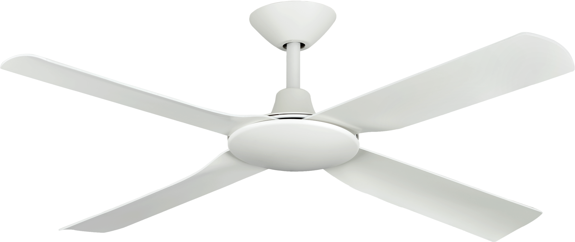 """Hunter Pacific Next Creation 52"""" DC White Ceiling Fan"""