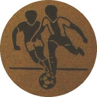 Soccer (25mm Gold Centre)