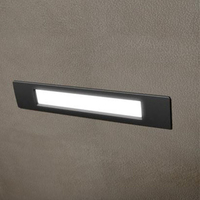 Fumagalli Nina 270 11W LED Wall / Brick Light Black