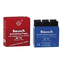 BAUSCH ARTICULATING PAPER THIN RED