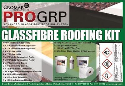 Pro GRP Advanced GlassFibre Roofing System Kit 13m2