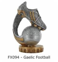 Gaelic Football Flex Figure 75mm (Silver & Go