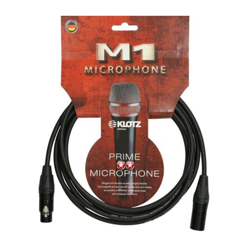 Klotz M1Fm1NN0500 5M XLR Female-Male M1 Cable *with Nickel Neutrik plugs*
