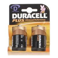 Duracell Plus MN1300 D Battery 2pk