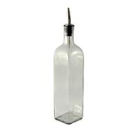 Square Olive Oil Bottle 500ml (16oz)
