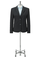 Black Elle Ladies Two Button Jacket
