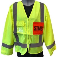 STMS Hi Vis TTMC-W Supervisor Long Sleeve Safety Vest