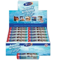 Aqua All Purpose Putty Display Carton