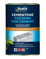 Bostik Cementone Powder Cement Dye Brick Red 1Kg