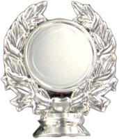 50mm Wreath Holder (Silver)