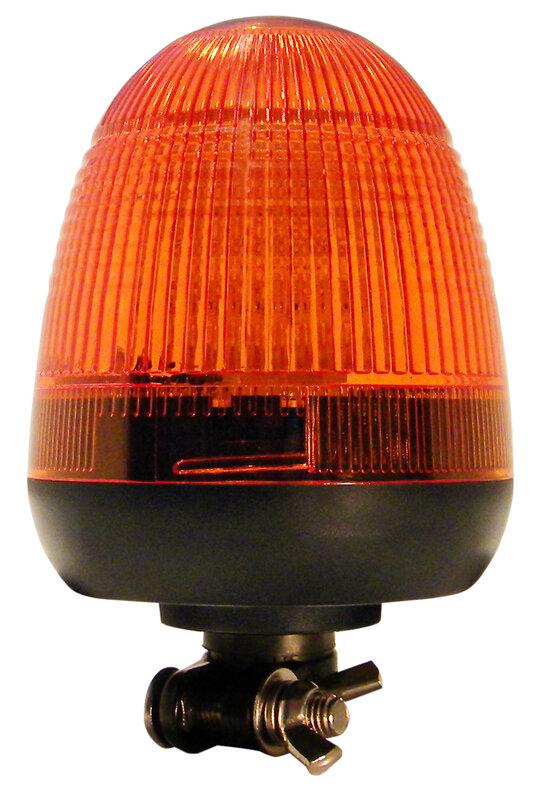 Beacon - 10-30V DIN Fixing Amber