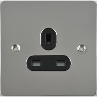 Flat Plate PC 13A 1G UNSW SKT Black | LV0701.0415