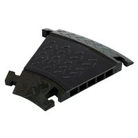 eLumen8 CP 535CB 5 Channel Cable Ramp 30 Degree Corner (Black Lid)