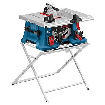 Bosch GTS635-216 220v 1600w 81/2'' 216mm Portable Table Saw 5500rpm Cutting Depth 70mm Cutting width Right 635mm 28kg C/W GTA560 Legstand