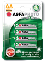 AgfaPhoto Rechargeable Battery AA 2100mAH