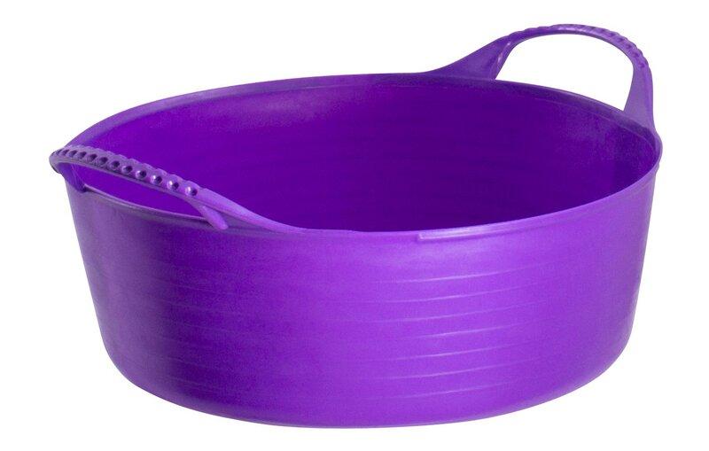 Red Gorilla Tub Purple Mini Shallow 5L
