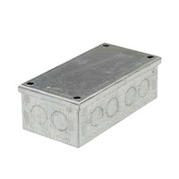 6x3x2 Galv. KO Adaptable Box