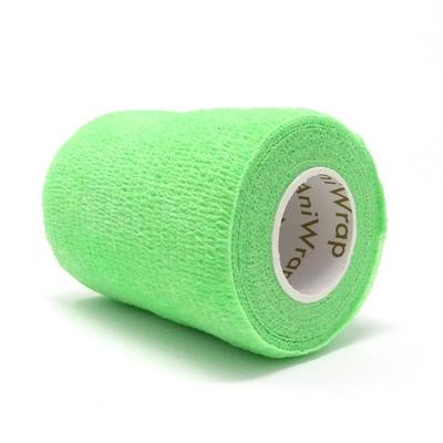 Purfect Aniwrap Cohesive Bandage Fluorescent Green 5cm
