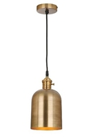 Rodrigo 1 Light Pendant, Antique Brass | LV1802.0087