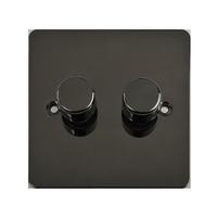 Switch Ultimate 1G 2W LED DIM 100W/VA Black Nickel