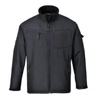 Portwest Zinc Softshell Jacket Black