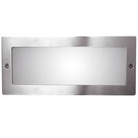 ANSELL 40W E27 Frame Bricklight Stainless Steel