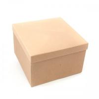 BOX GIFT & LID 200x200x110MM  NATURAL