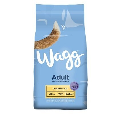 Wagg Complete with Chicken & Vegetables 4 x 2.5kg