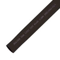 Heat Shrink | Black 11mm Diameter 100M Reel