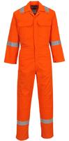 Portwest BizWeld Iona Coverall Hi-Vis Orange