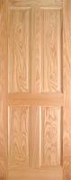 Indoors Lawrence Pre-Fin Oak 4-Panel Engd Door 80X34