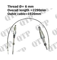 PTO Control Cable