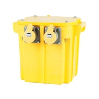 PT 240/110V Portable Tool Transformer 1ph 3 Socket (5.0kVA)