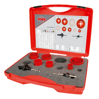 Ruko EK1 Electricians Holesaw Set 8 Pieces