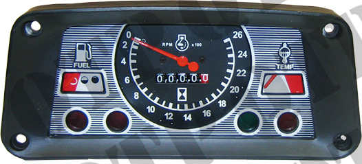 Industrial Instrument Panel : Dash panel tach ford  clifford s