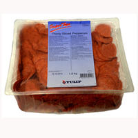 Topping Pepperoni (Thin Sliced)-Super Tops-(1kg)