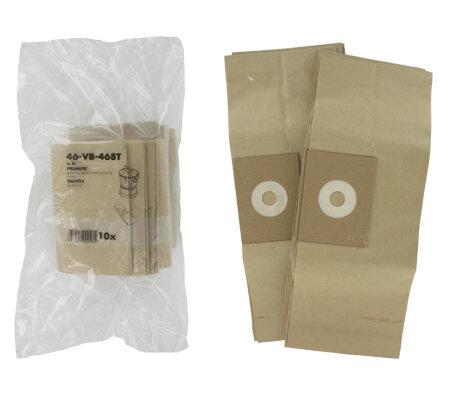 Truvox Valet V6 V9 V10  Premiere Mini 175 Paper Bags (Pack Of 10)