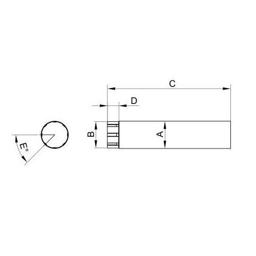RoofArt Steel downpipe dimensions