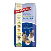 Mr Johnson's Supreme Tropical Fruit Rabbit Mix 900g x 6 [Zero VAT]