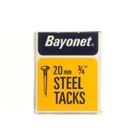 """BAYONET DISPLAY BOX BLUED CUT TACK 20 MM 3/4"""""""