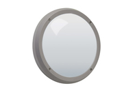 LED TWILIGHT 3W LED circular wall light , IP65, Grey, 3000K