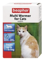 Beaphar Multiwormer Cat 12 tab x 1