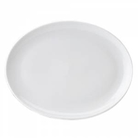"""Pure White Oval Plate 14"""" (36cm)"""