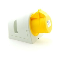 CEE UI2164SRU Wall Socket 16A 110V 3P Yellow