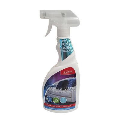 Acana Carpet & Fabric Moth Killer Fresh Linen 500ml Spray