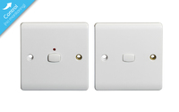 MiHome Smart White 1 Gang Light Switch (Two-way)