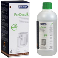 Delonghi Eco Decalk Coffee Machine Descaler 500Ml Bottle Genuine